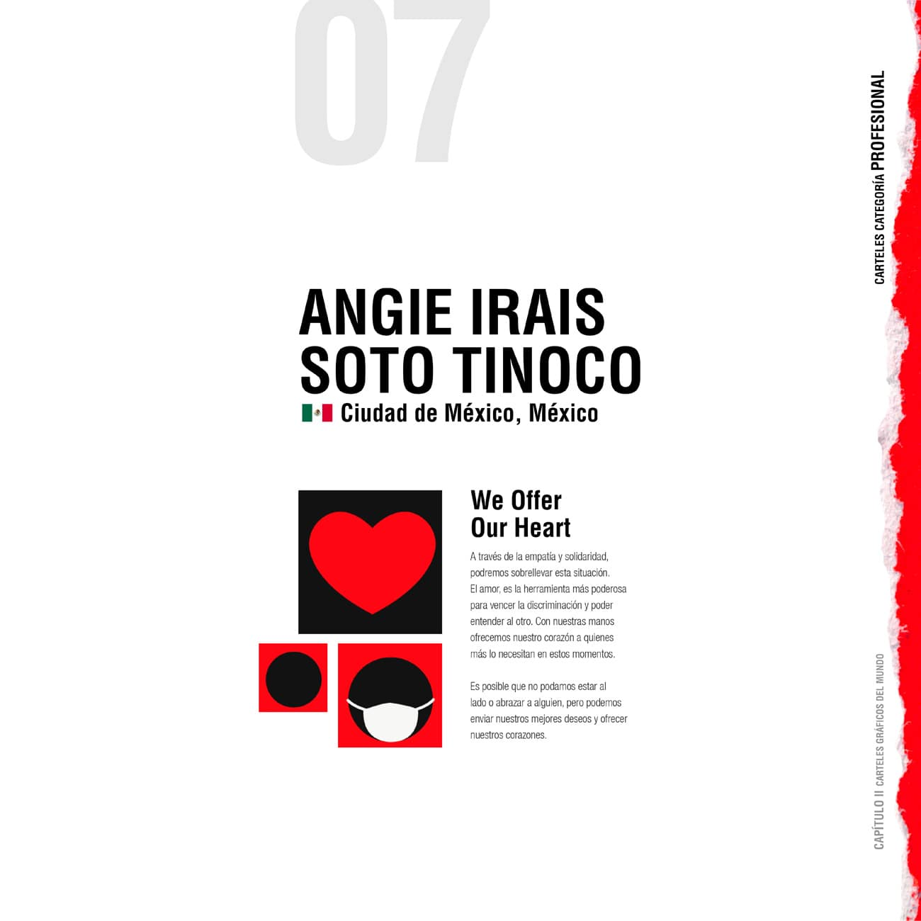 We offer our heart - International Poster ExhIbition by UN AIDS-07